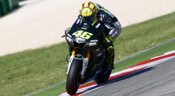 Valentino Rossi menjajal prototype 2014 di sesi tes Misano (Foto: MotoGP.com)