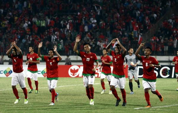 Timnas Indonesia U-19.(foto:Tarmuji Talmacsi/SINDO)
