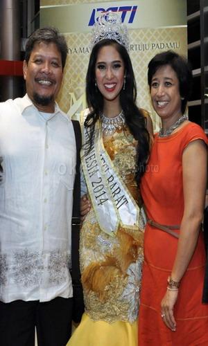 Sosok Miss Indonesia 2014 di Mata Orangtua