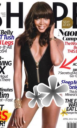 Alamak, Naomi Campbell Seksi Banget Berbikini