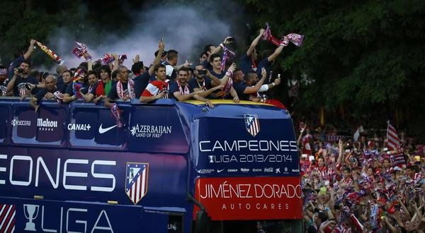 Kemenangan Atletico Madrid yang juga menginspirasi Sevilla (Foto: Reuters)