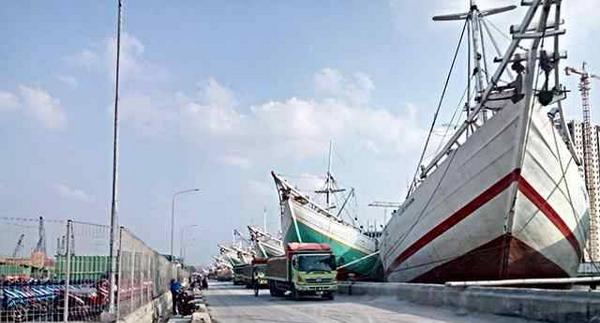 Pelabuhan Sunda Kelapa Tempo Dulu di Pelabuhan Sunda Kelapa