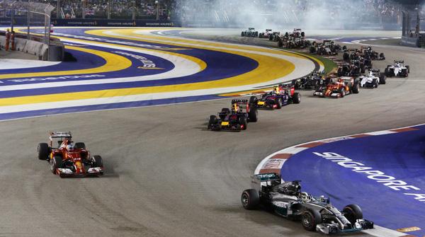 GP F1 Singapura. (Foto: Reuters/Edgar Su)