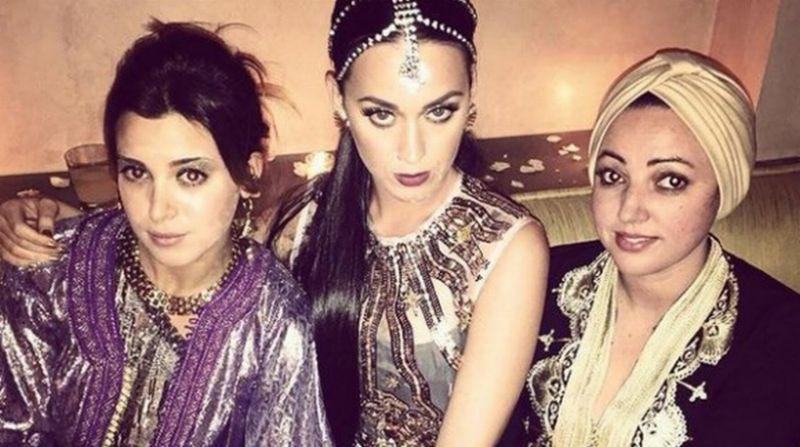 Katy Perry Berhijab di HUT ke-30