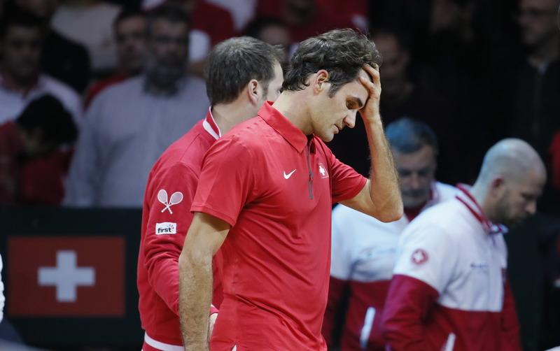 Tumbangkan Federer, Monfils Samakan Raihan Poin Prancis