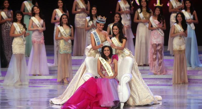 Maria Harfanti Pemenang Miss Indonesia 2015