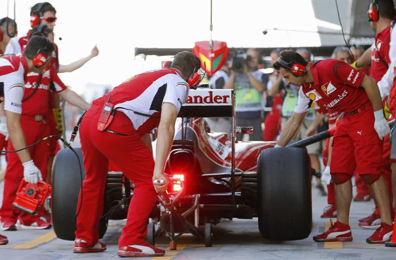 Ferrari Harus Tetap Konsentrasi