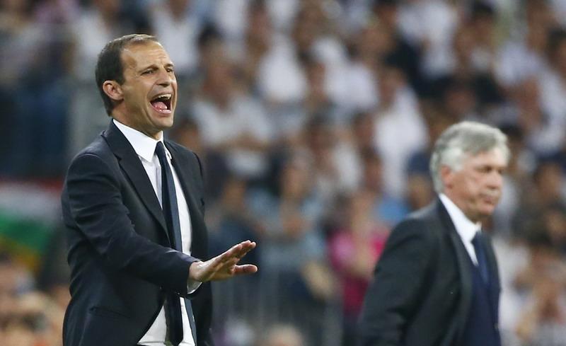 Pelatih Juventus, Allegri, dipuji setinggi langit. (Foto: Reuters)