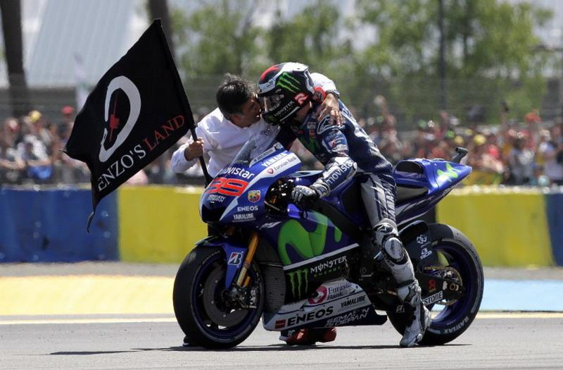 Lorenzo berjaya di Le Mans, Marquez loyo (Foto: AFP)