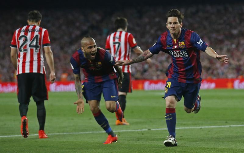Barcelona menang 3-1 atas Bilbao di final Copa del Rey (Foto: Reuters)