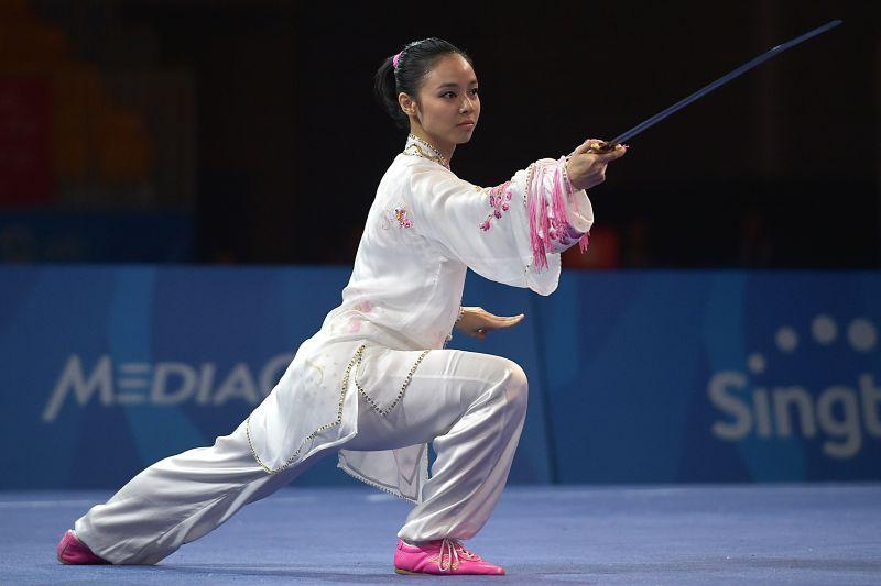 Lindswell Kwok salah satu atlet muda Indonesia yang meraih emas di SEA Games 2015 (Foto: Antara/Nyoman Budhiana)