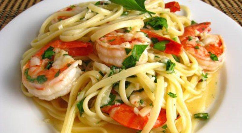 Resep Pasta Linguini Udang Menggugah Selera