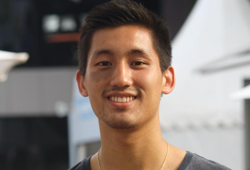 Alex Tjong, terpikat olahraga bulutangkis (foto: Rintani Mundari/Okezone)