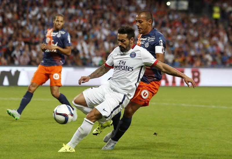 Lavezzi capai kesepakatan dengan Inter. (Foto: REUTERS/Philippe Laurenson)