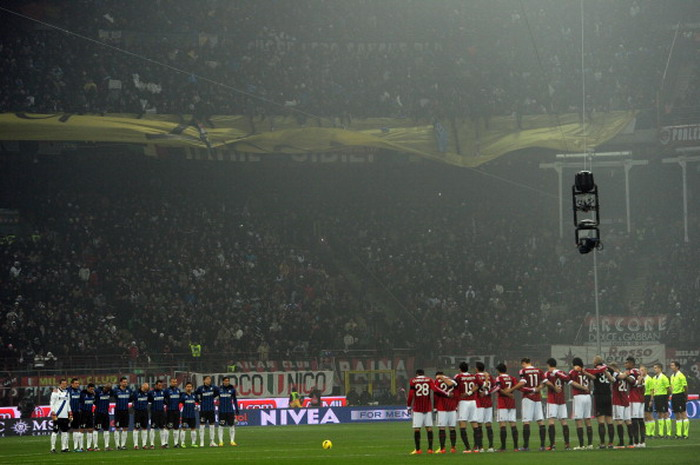 Derby della Madonnina yang selalu panas (foto: Football Italia)