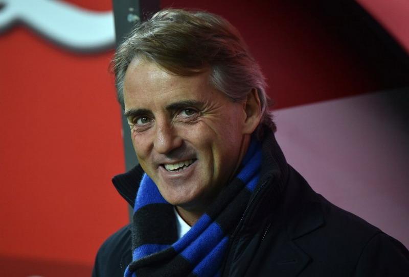 Mancini telah memikirkan susunan pemain yang akan diturunkannya melawan Milan (Foto: AFP)