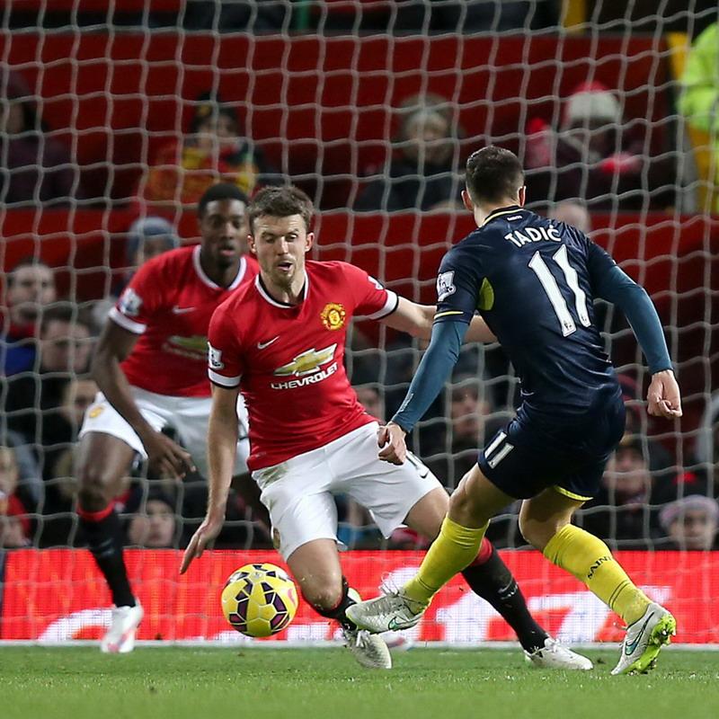 Gol Tadic tundukkan United di Old Trafford..