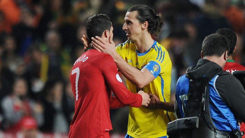 Ronaldo bakal bersaing dengan Ibra.