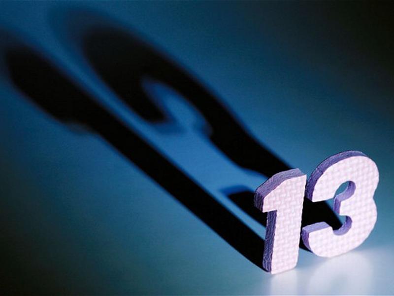 Fakta & Mitos Angka 13 yang Perlu Diketahui