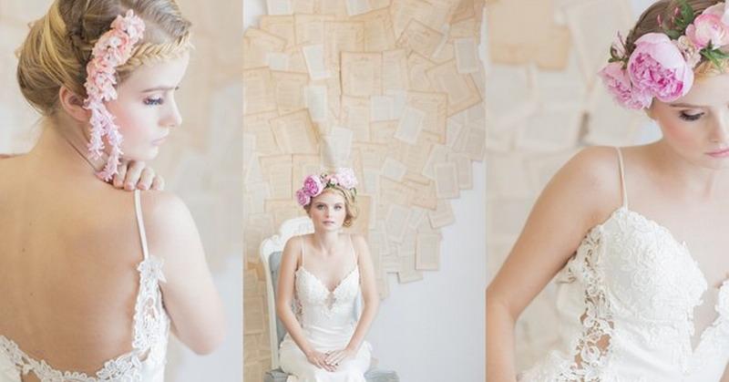 Punggung Cerah, Gaun Pengantin Cantik di Tubuh