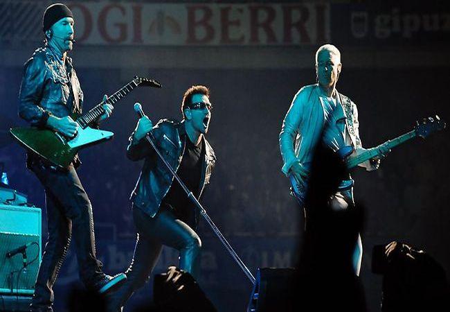 U2. (Foto: Daily Telegraph)