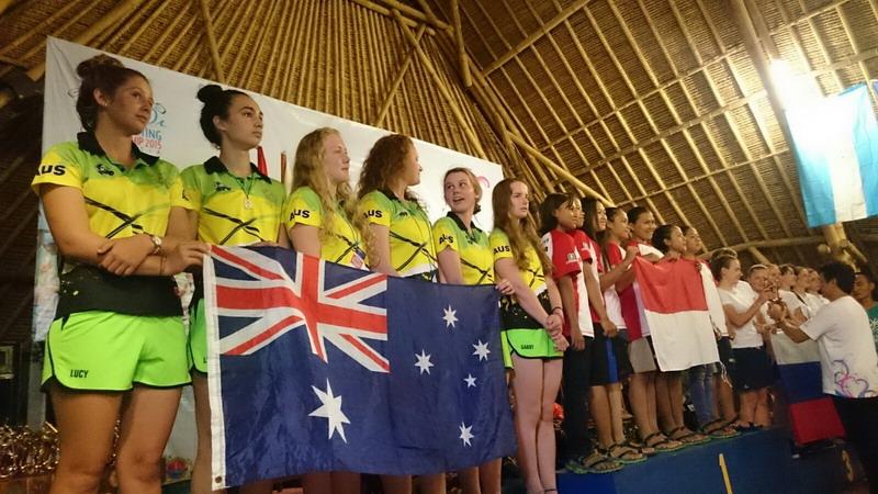 Tim Rafting Indonesia gondol dua emas.