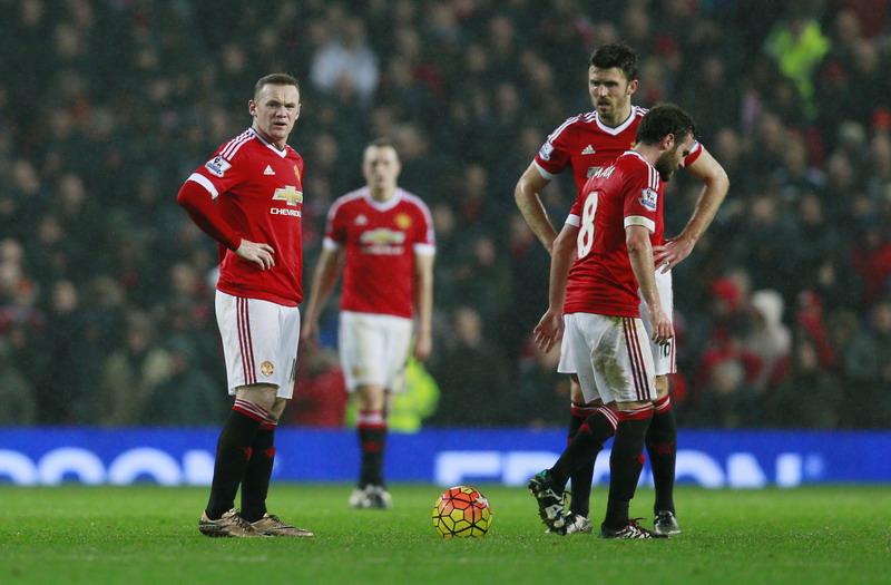 Permainan United membosankan. (Foto:Reuters/Jason Cairnduff)