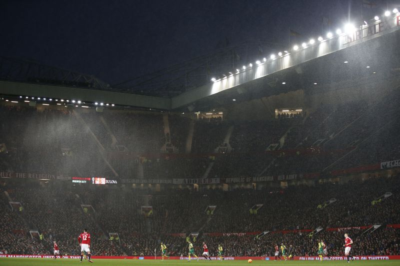 Ilustrasi Old Trafford markas United. (Foto: REUTERS/Carl Recine)