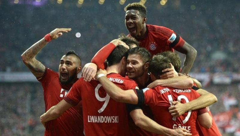 Bayern Munich masuk dalam 10 klub Eropa dengan rating terbaik (Foto: AFP)