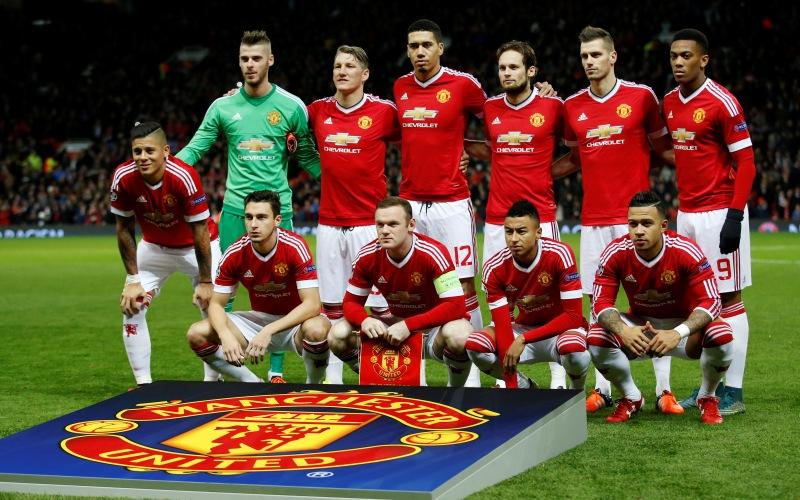 Para pemain United (Foto: Ben Stansall/AFP)