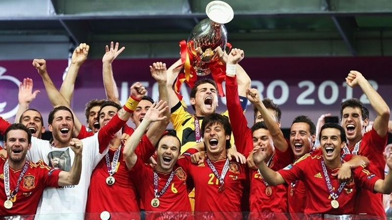 Spanyol juara Euro 2012 (Foto: AFP)