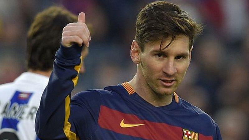 Penyerang Barcelona Lionel Messi/Foto: AFP