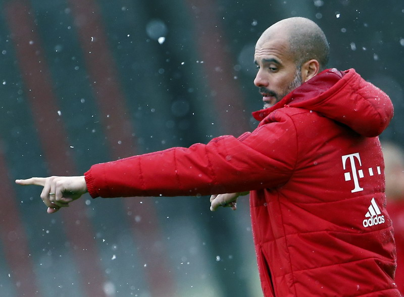 Guardiola hampir gabung City pada 2005. (Foto: REUTERS/Michael Dalder)