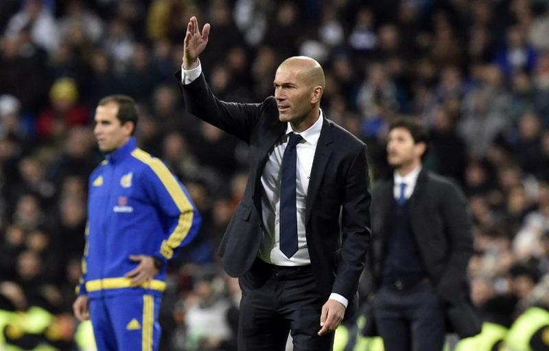 Zidane diganjar kontrak anyar oleh Madrid. (Foto: AFP/Gerard Julien)