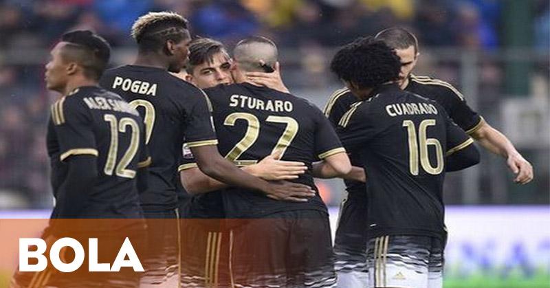 Juventus Terlalu Kuat bagi Frosinone