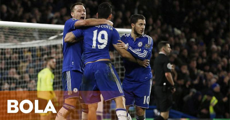 Chelsea dan United Berbagi Poin di Stamford Bridge