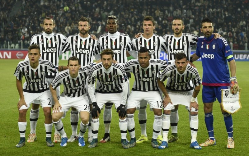 Para pemain Juventus (Foto: Andreas Solaro/AFP)