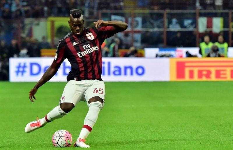 Balotelli kembali jadi korban rasisme. (Foto:AFP)