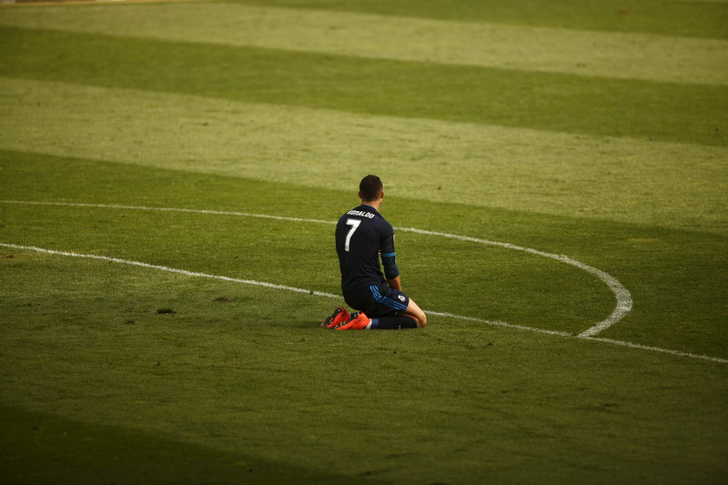 Ronaldo dan kolega diimbangi Malaga (Foto: Reuters)