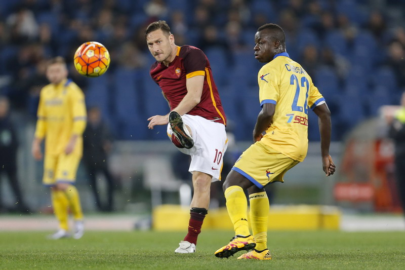 Roma identik dengan Totti. (Foto:Reuters)