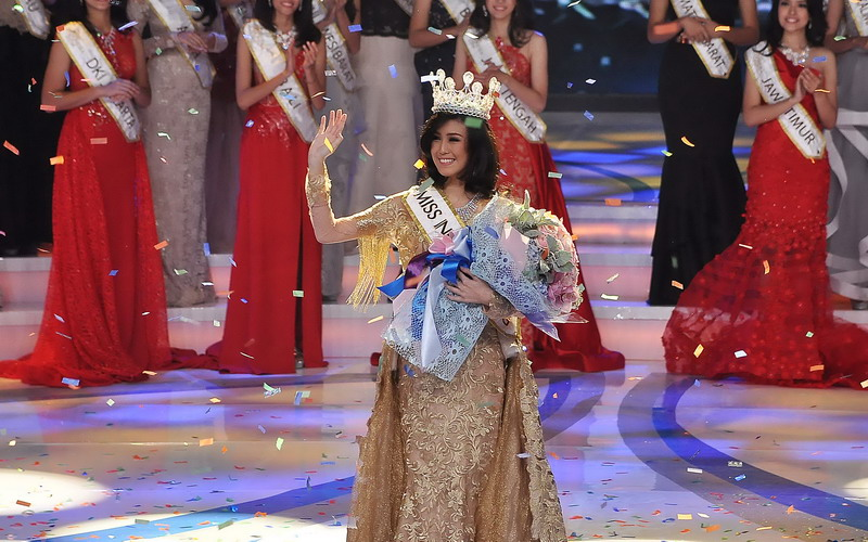 Natasha Mannuela Tak Menyangka Jadi Miss Indonesia 2016