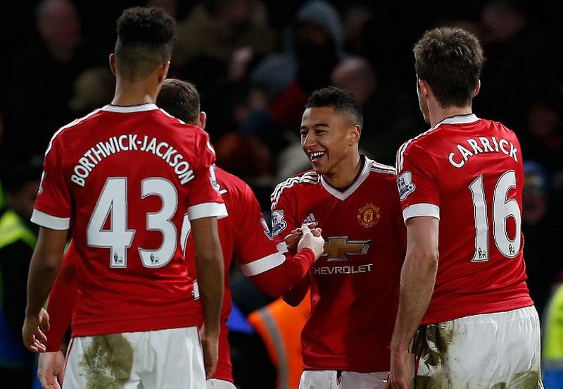 Lingard pilih United ketimbang Liverpool. (Foto: AFP/Ian Kington)