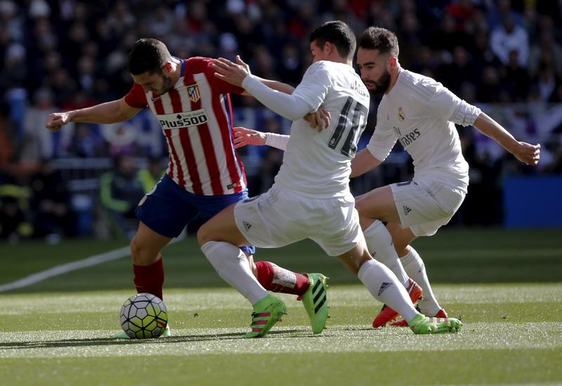 Permainan Madrid memalukan. (Foto: REUTERS/Sergio Perez)