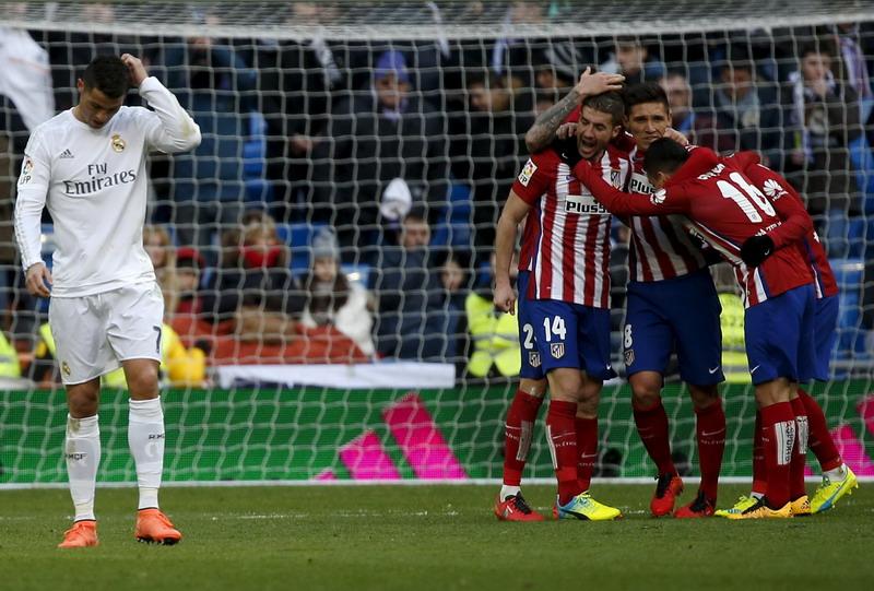 Ronaldo sebut Madrid layak menang atas Atletico. (Foto: REUTERS/Sergio Perez)