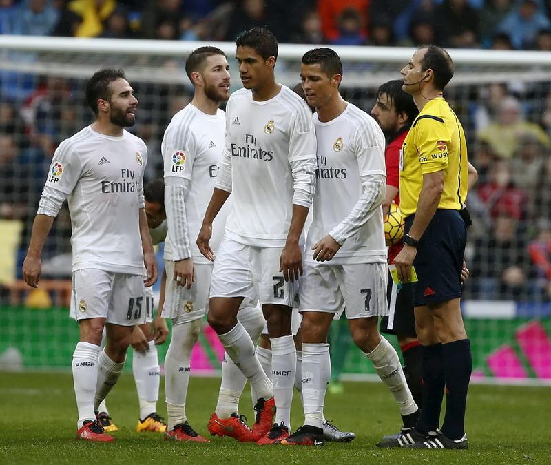 Madrid fokus ke Liga Champions. (Foto: REUTERS/Andrea Comas)
