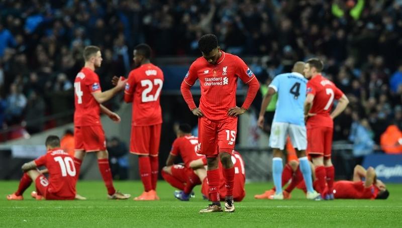 Liverpool kalah dari City (Foto: AFP)