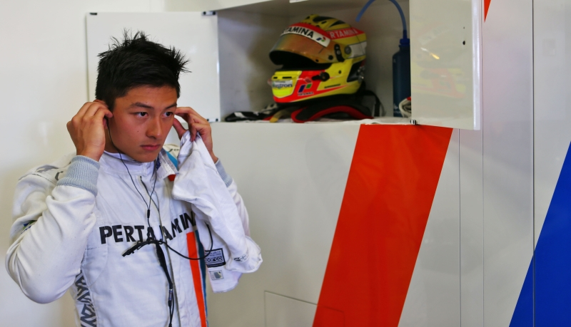 Rio Haryanto (Foto: Situs resmi Manor Racing)