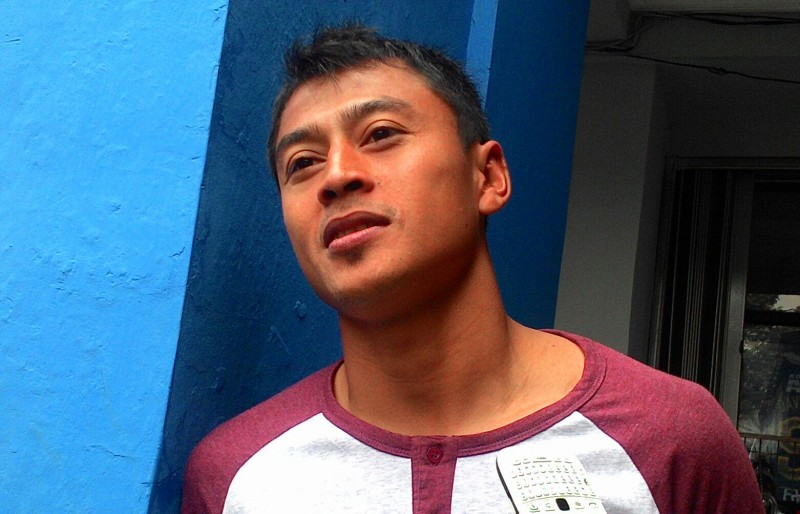 Samsul Arif. (Foto:Okezone/Oris Riswan)