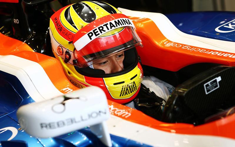 Hasil gambar untuk Rio Haryanto Resmi Gabung Manor Racing