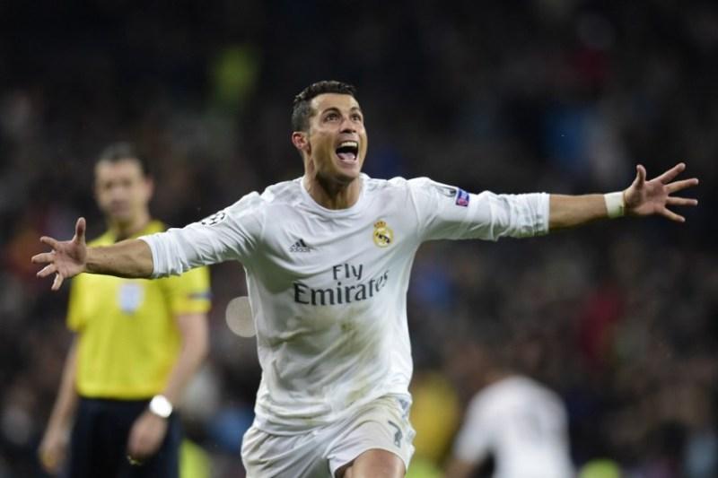 Ronaldo kembali cetak rekor. (foto:AFP/Javier Soriano)